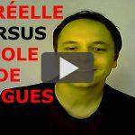Prononciation française : la vitesse des phrases.