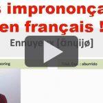 Mots imprononçables en français