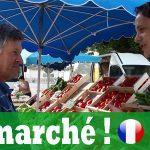 AU MARCHÉ – Vidéo, Podcast et Transcription