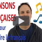 Chansons françaises pour apprendre le français