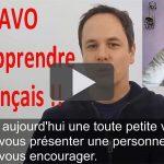 BRAVO POUR APPRENDRE LE FRANÇAIS !