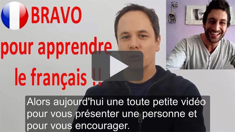bravo pour apprendre le français