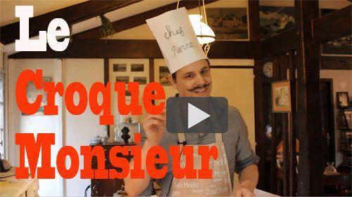 Apprendre le français en cuisinant le croque-monsieur