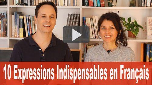expressions indispensables en français