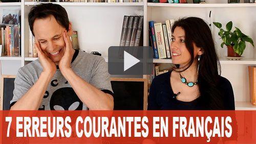 ERREURS COURANTES EN FRANÇAIS